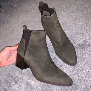 Nine West Suede Booties